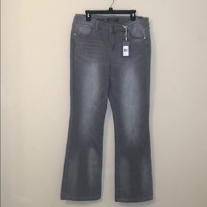 The limited bootcut gray jeans - size 16